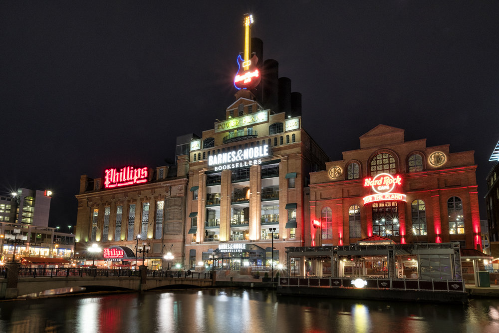 The Powerplant, Baltimore, April Evening