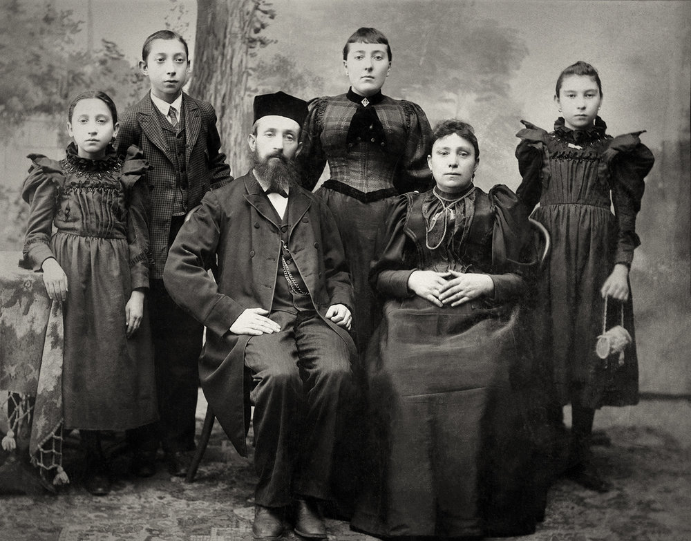 Adalman Family (Hyman is 2nd from the left)