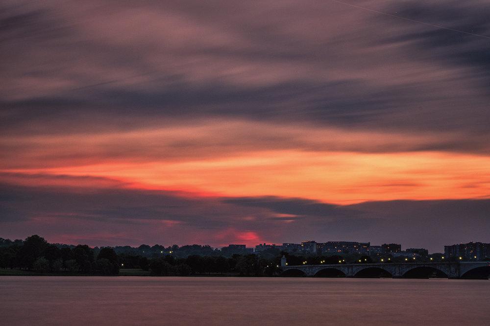Rosslyn, April Evening
