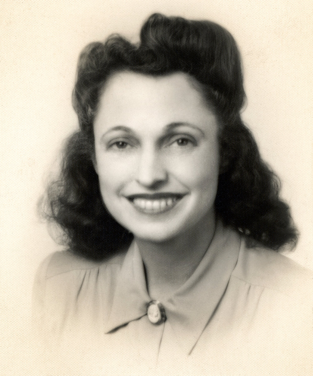 Kathryn Goodwin in the 1940's