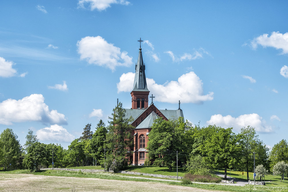 Evangelical Church, Sipoo, Finland