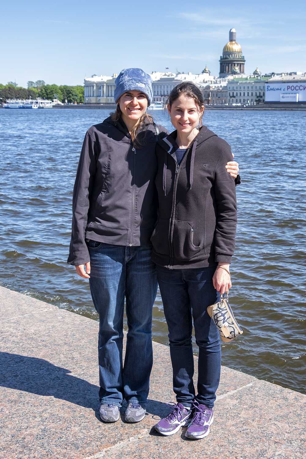 On the Neva River in St. Petersburg