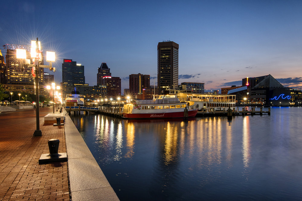 Baltimore, August Morning