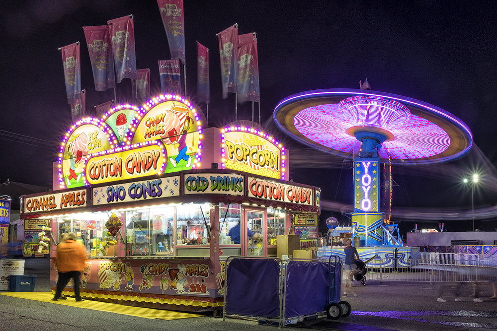 Maryland State Fair, August Evening