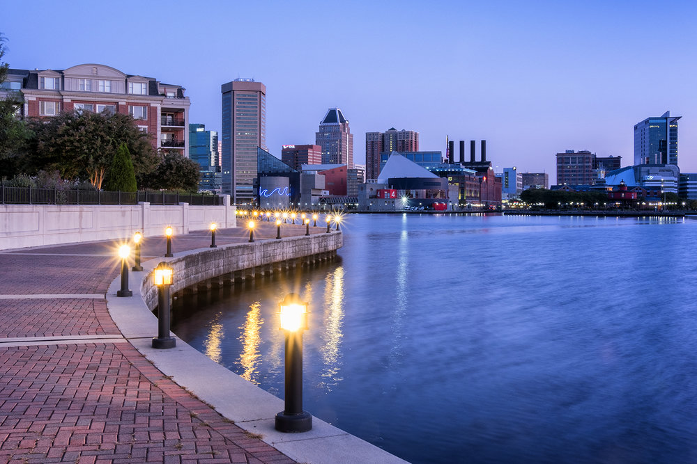 Baltimore, September Morning