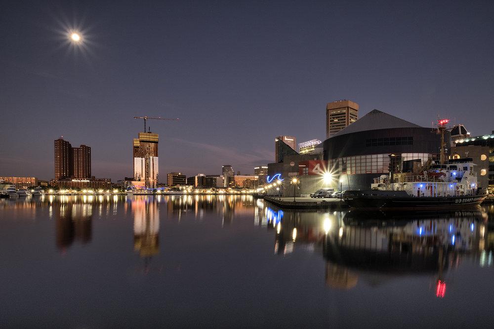 Baltimore, October Morning