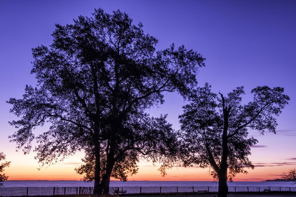 Fort Smallwood, October Morning