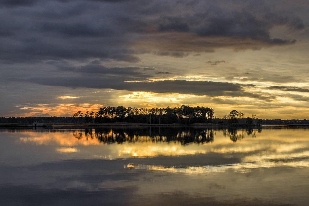 Blackwater NWR, November Sunset
