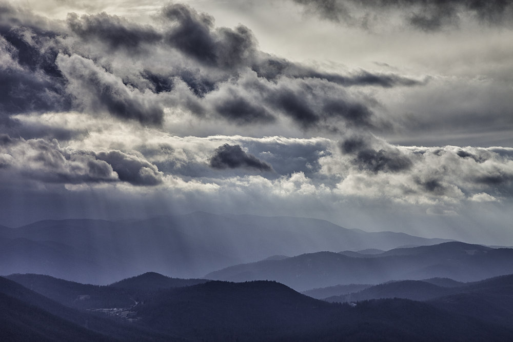 Blue Ridge, Winter Storm