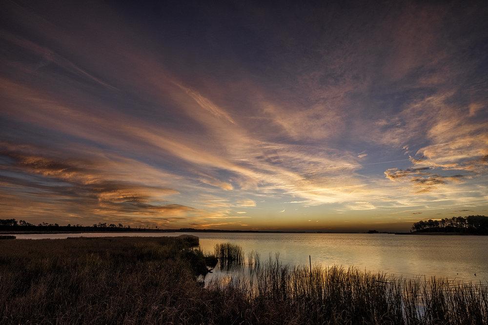 Blackwater NWR, November Sunrise