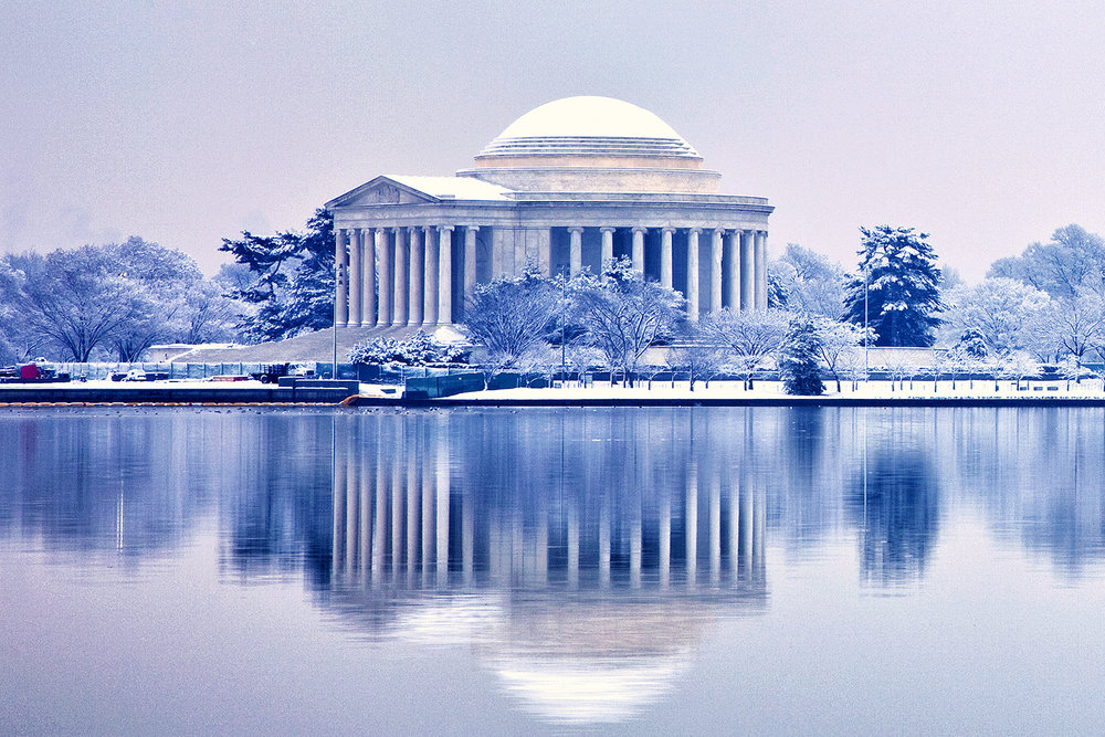 Jefferson Memorial, February Morning