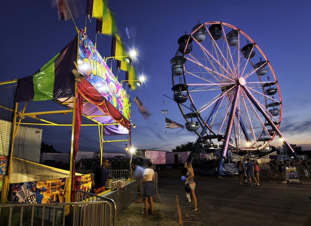 Montgomery Fair, August Evening