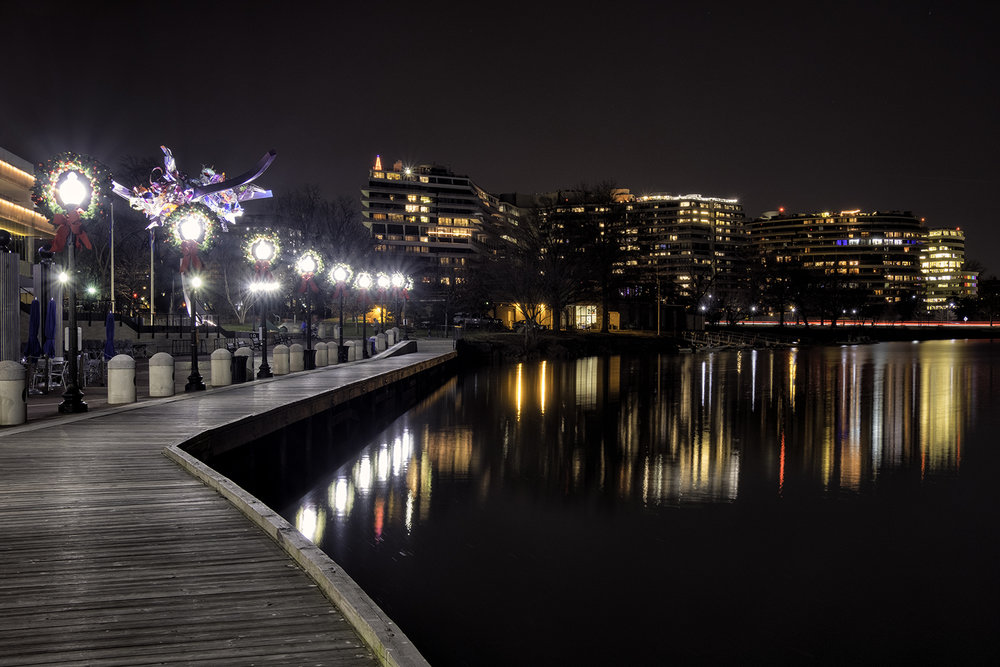 Georgetown Waterfront, December Evening