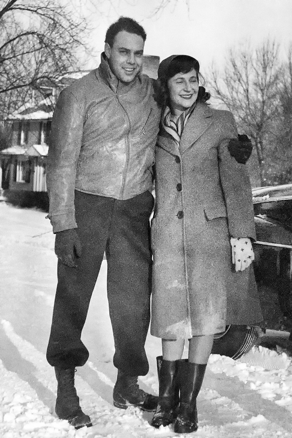 Anne and Doug, Winter 1947-48