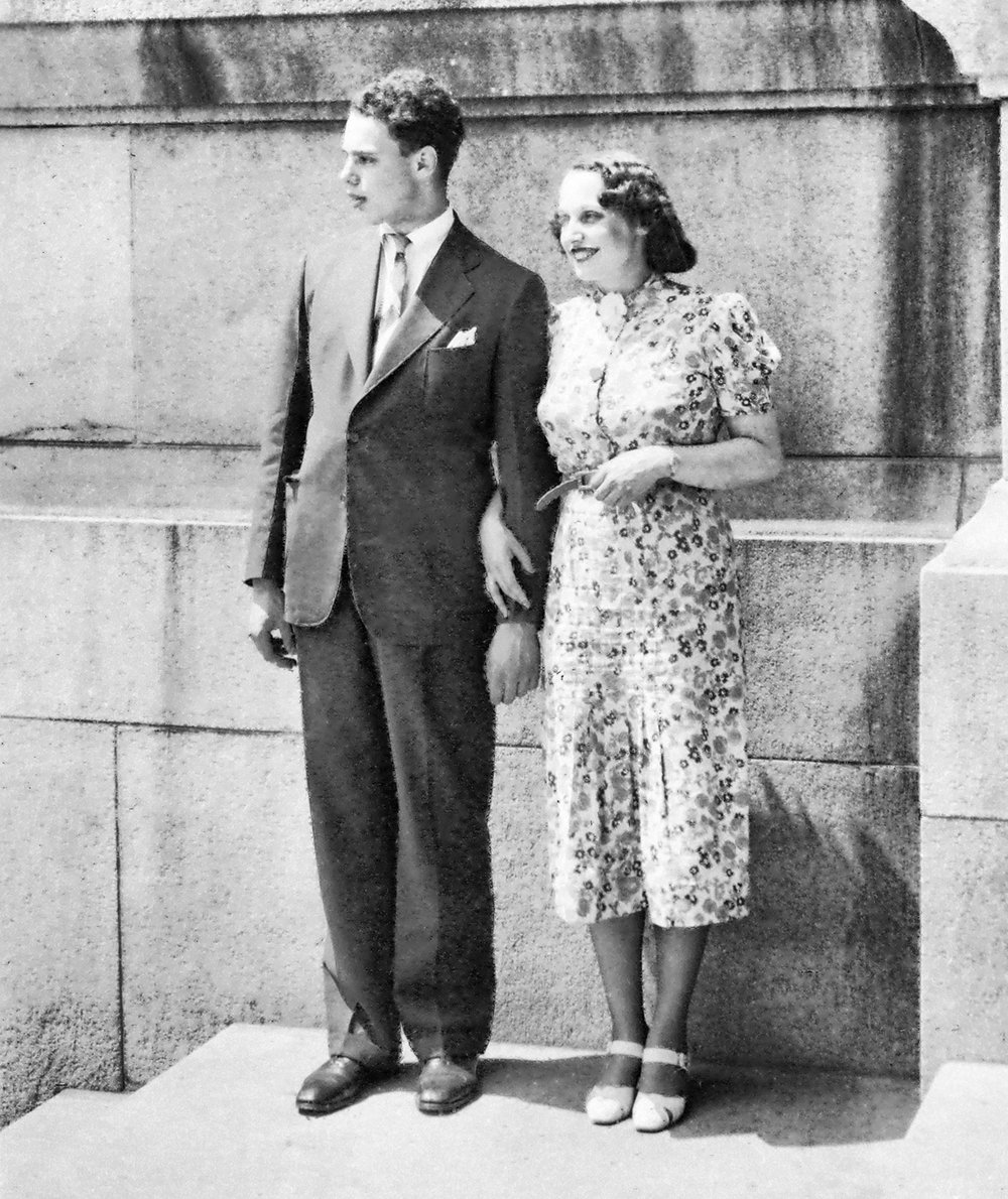 Doug and Kathryn, late '30s