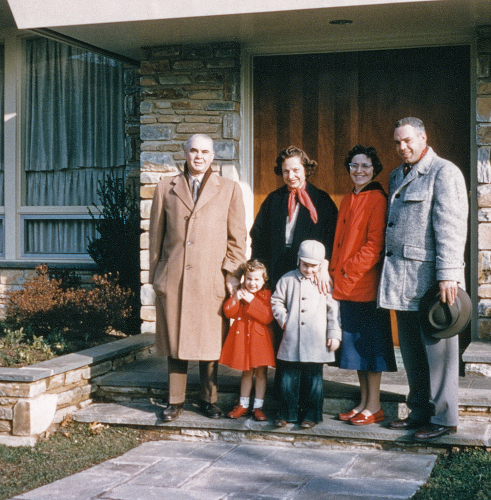 With Parents and Grandparents on Academy Lane