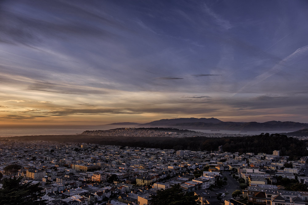 San Francisco, January Evening