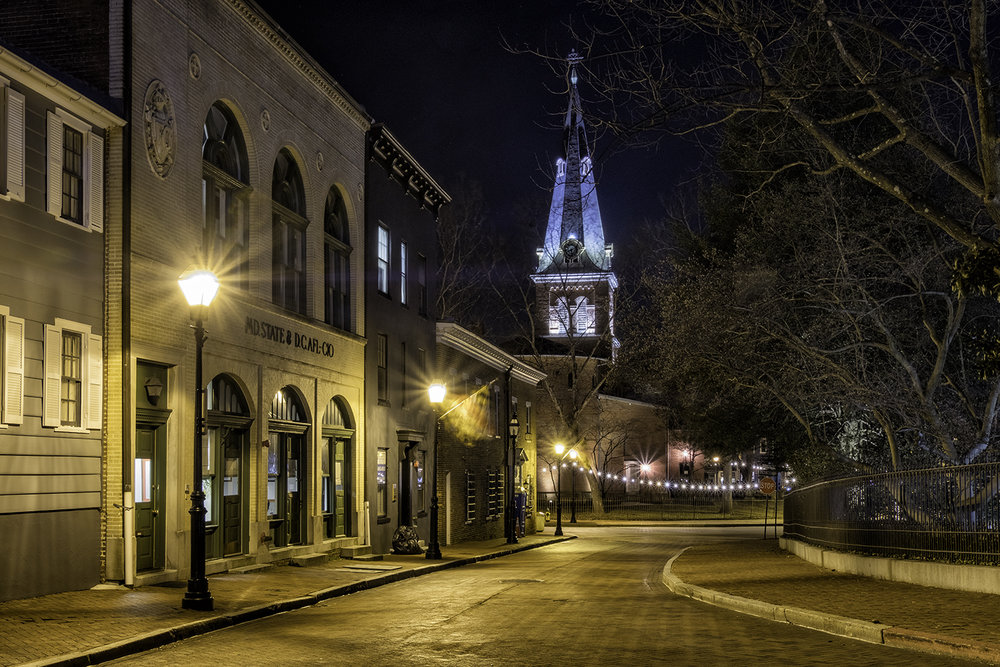 St. Anne's Church, Annapolis, February Morning