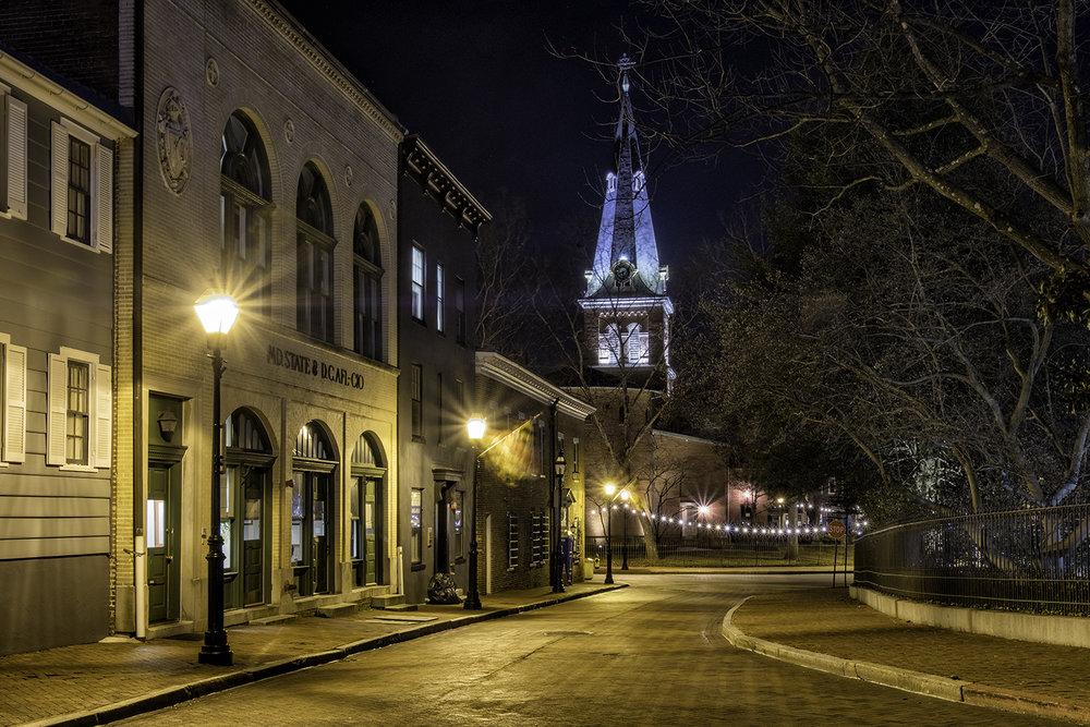 St. Anne's Church, Annapolis, February Morning
