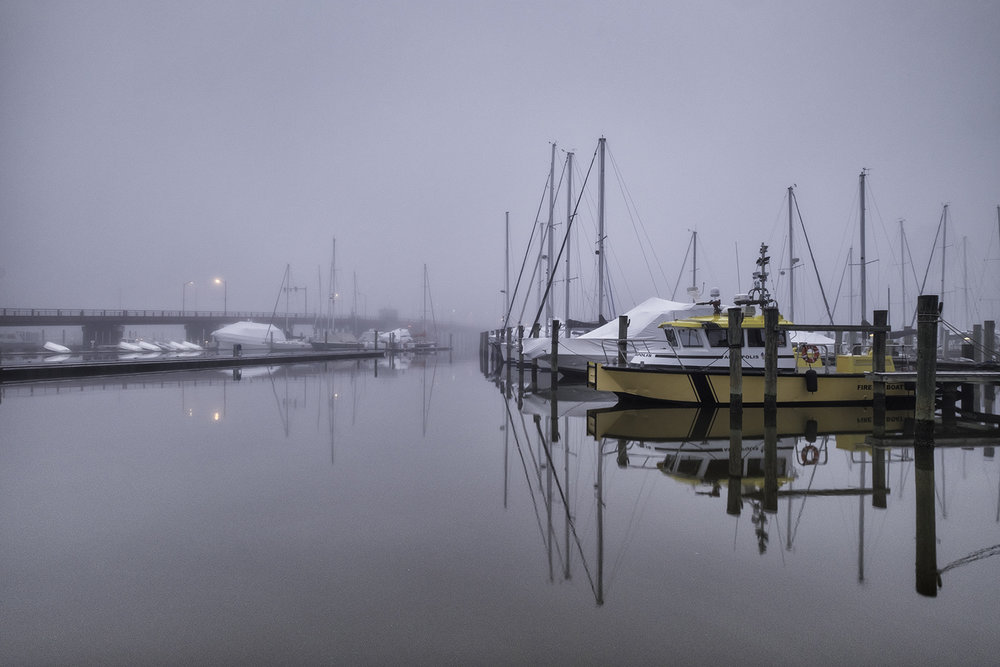 Annapolis, February Morning