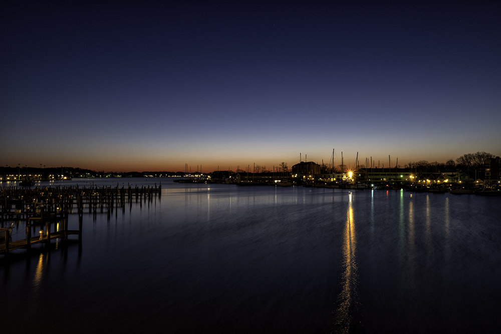 Annapolis, March Morning