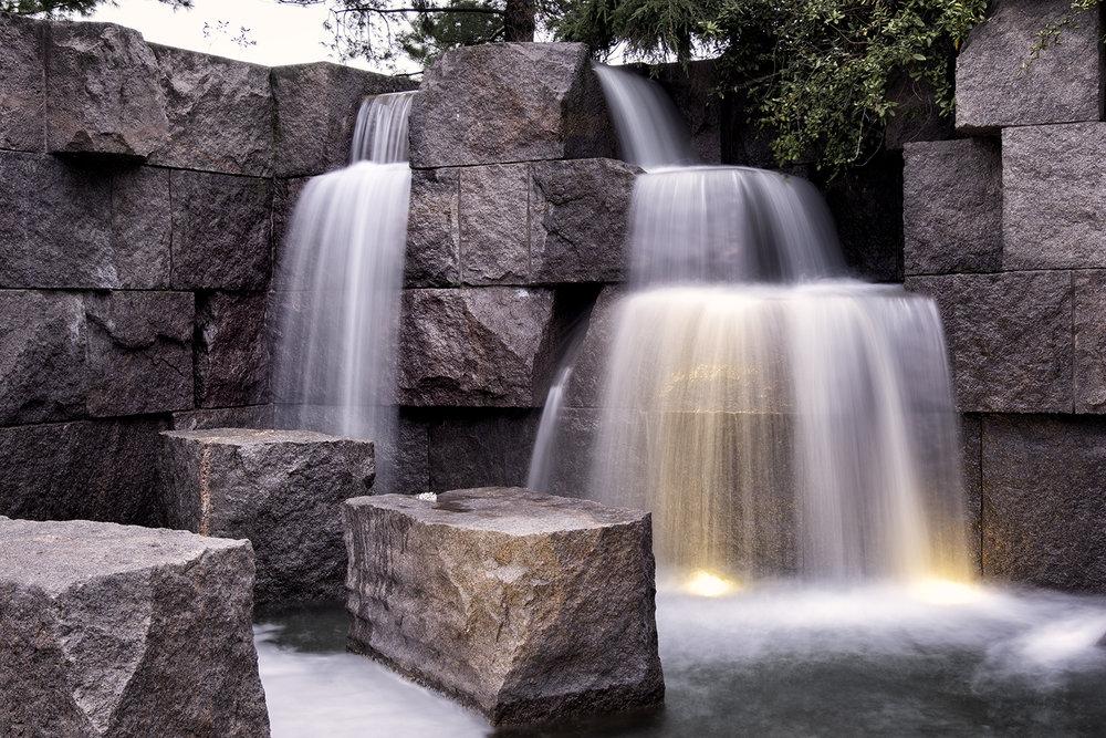 Roosevelt Memorial, April Morning