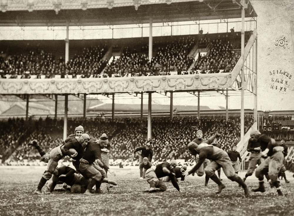 1916 Army Navy Game at the Polo Grounds