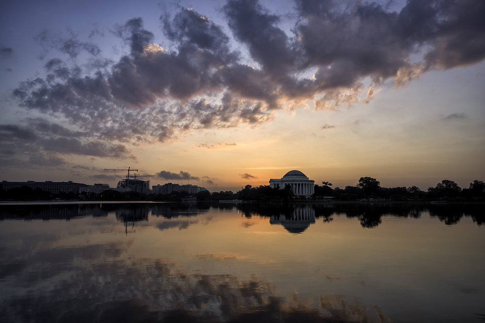 Tidal Basin, October Morning