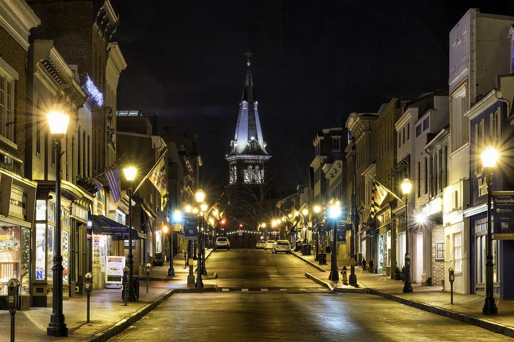 Main Street, January Morning