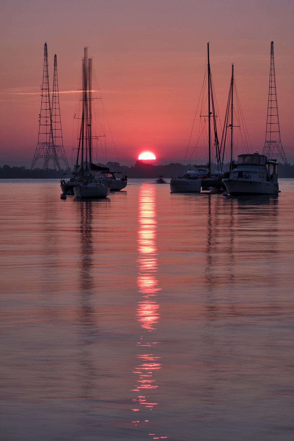 Annapolis Harbor, September Morning