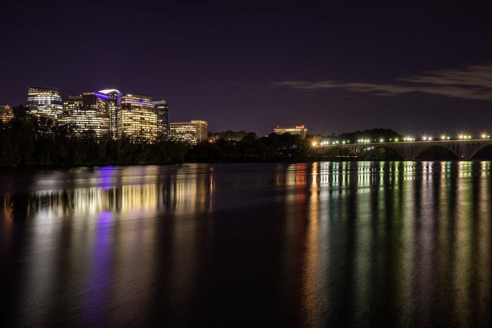 Rosslyn VA, October Evening