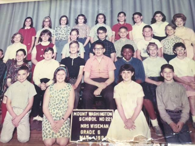 Mrs. Wiseman's 6th grade in 1964