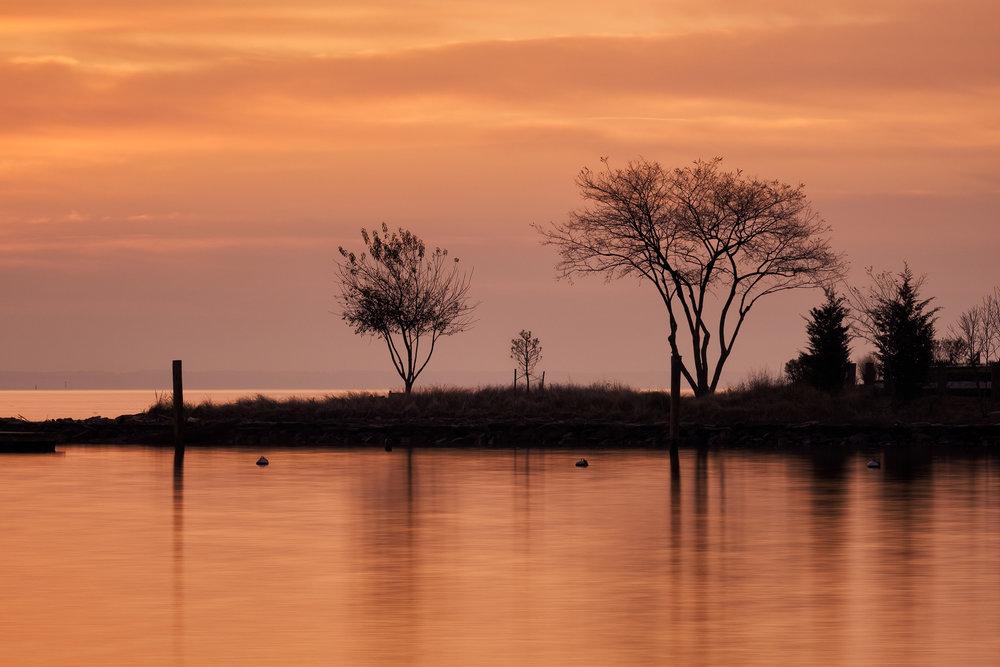 Eastport, December Sunrise