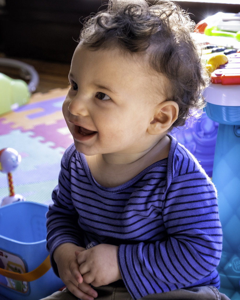 Eli 10 Months Old