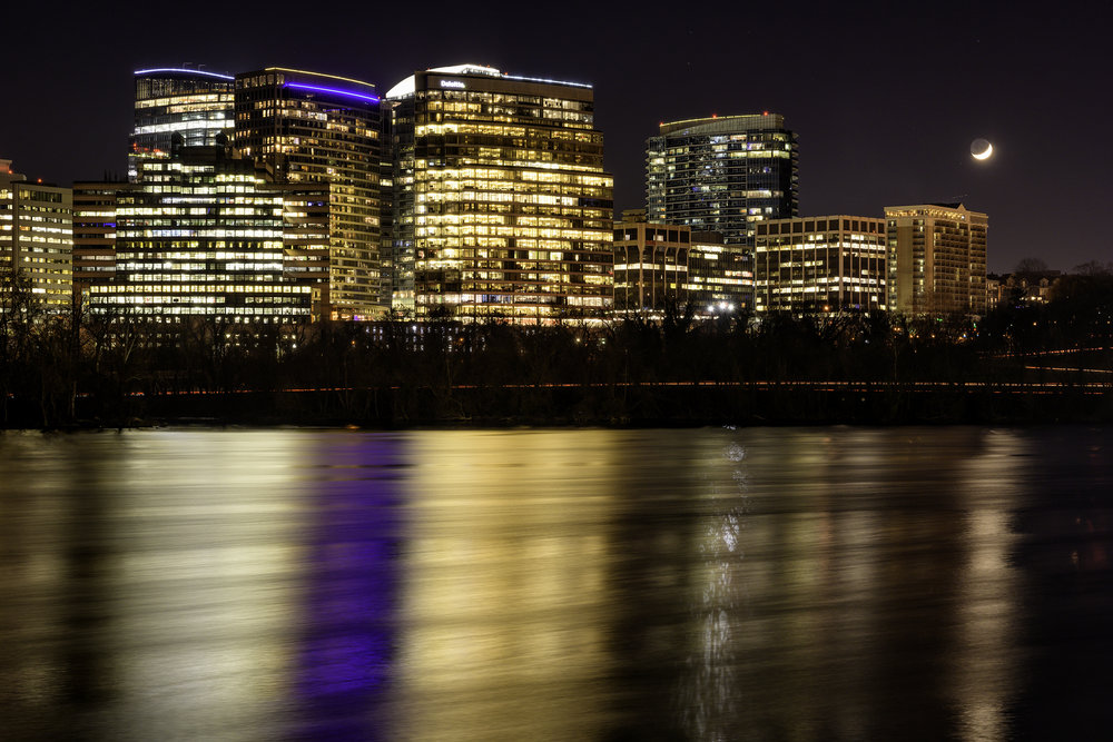 Rosslyn, December Evening