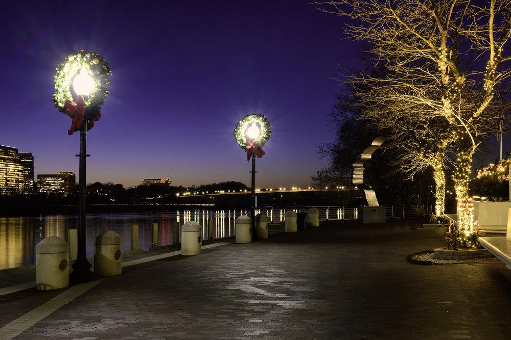 Georgetown, December Evening