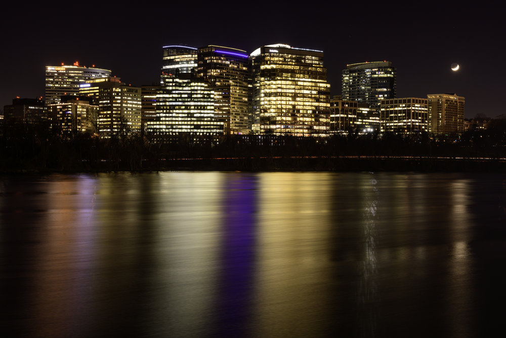 Rosslyn VA, December Evening