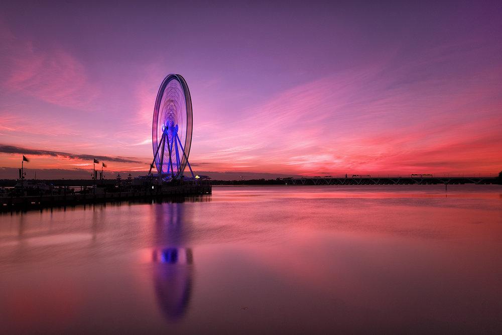 National Harbor, September Evening