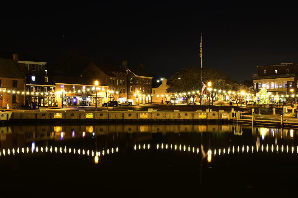 Annapolis Harbor, December Morning