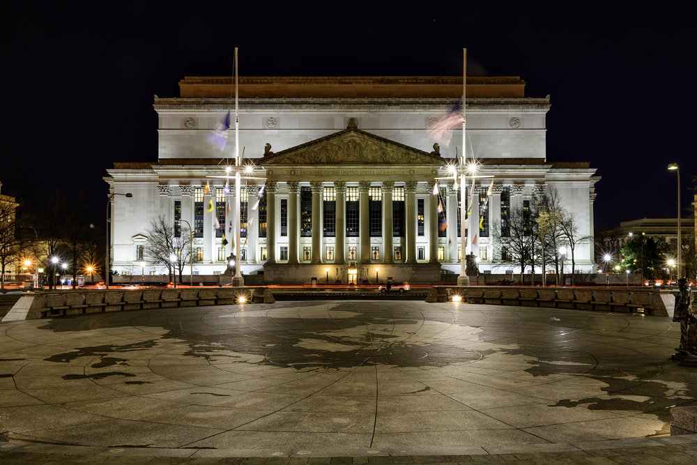 National Archives, December Morning