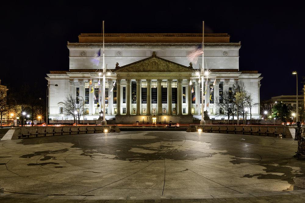 National Archives, December Morning