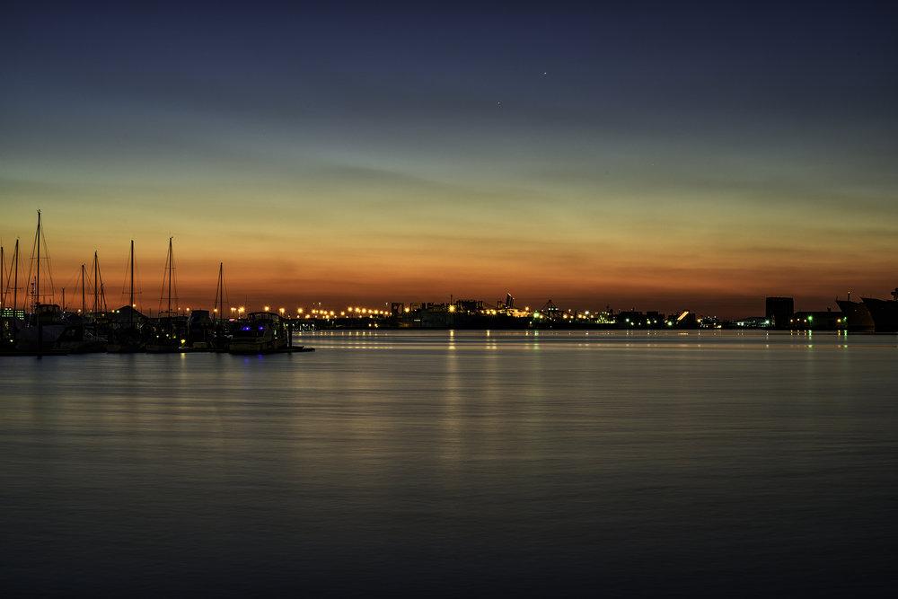 Fells Point, December Sunrise