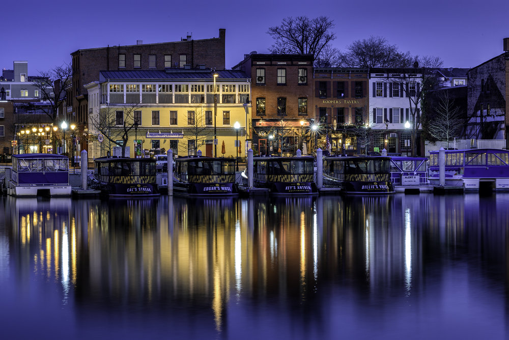 Fells Point, December Morning