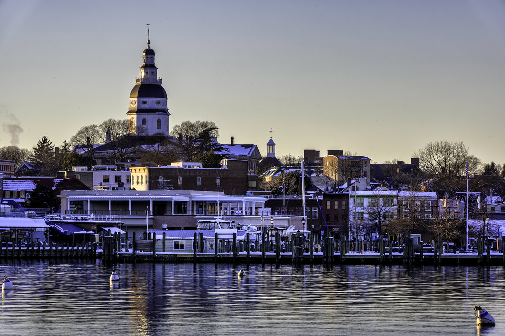 Annapolis, January Afternoon