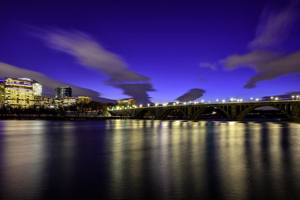 Rosslyn, VA, January Evening