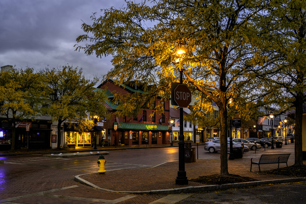 Annapolis, October Morning