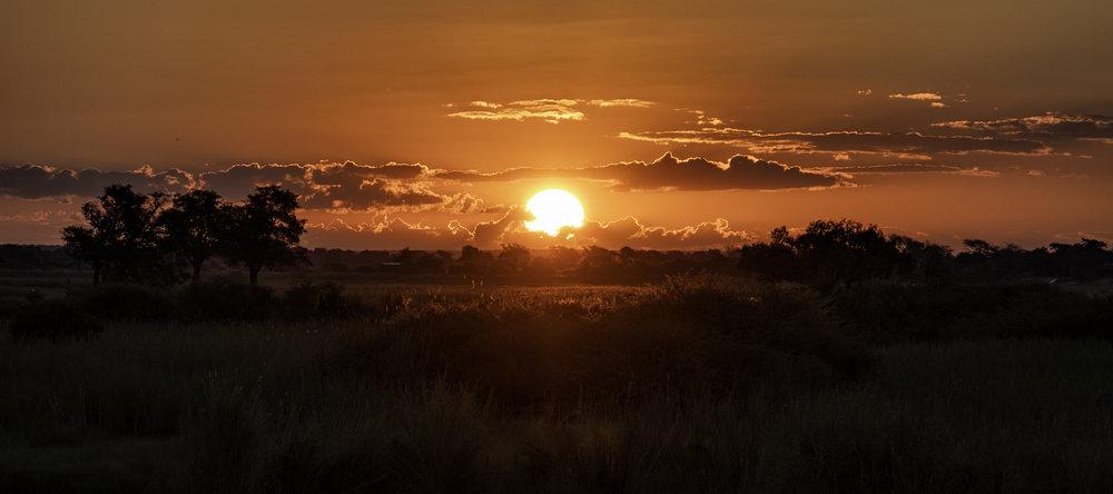 Chobe Park, February Sunset