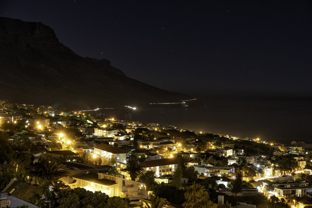 Camps Bay, Cape Town, SA, February Evening