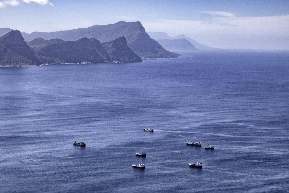 False Bay, Cape Town, SA, February Morning