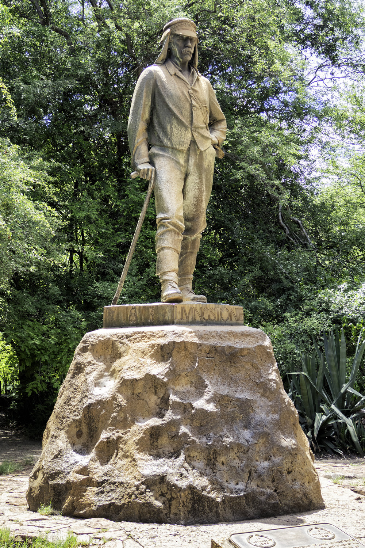 Livingstone Statue, Victoria Falls, Zimbabwe